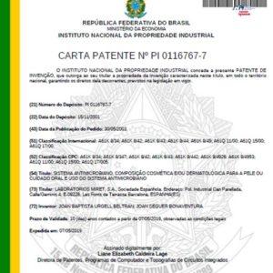 Patente LAE para Brasil